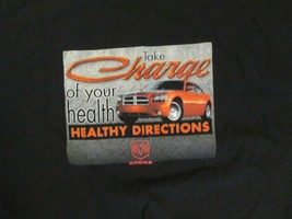 Take Charge Healthy Directions Dodge T Shirt Size XL - $1.99