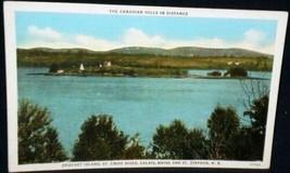 Curt Teich Douchet Island Linen Postcard - $2.84