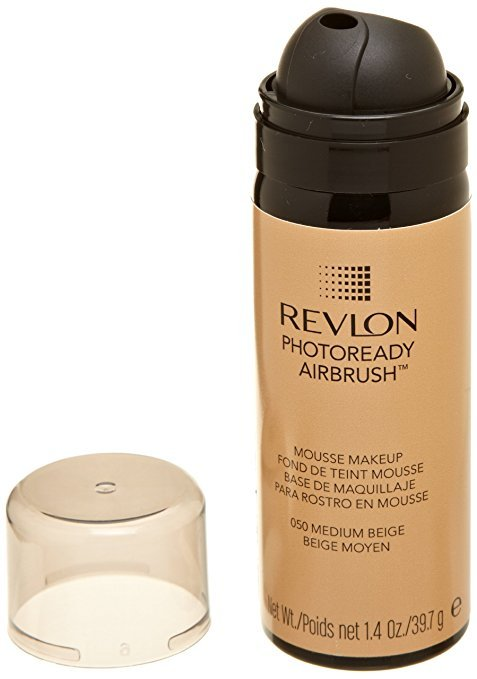 Primary image for REVLON Photoready Airbrush Mousse Makeup, Medium Beige, 1.4 Ounce by Revlon