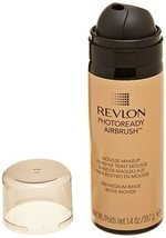 REVLON Photoready Airbrush Mousse Makeup, Medium Beige, 1.4 Ounce by Revlon - $14.99
