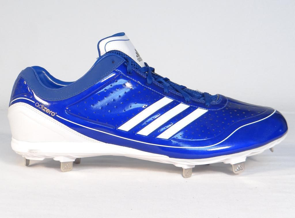 94863a853289be Adidas AdiZero Diamond King Blue Low Metal Baseball Softball Cleats Mens NEW  -  52.49