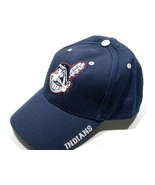 Cleveland Indians Vintage MLB Navy w/White Wahoo Cap by Twins Enterprise - $22.99