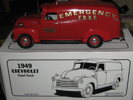 Fdny By First Gear 1949 Chevrolet Emergency Unit-FREE Shipping - $45.00