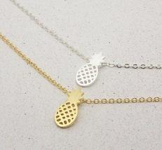 Shuangshuo Pineapple Theme Pendant / Necklace Link with Chain for Ladies / Women image 2