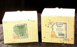 ENSCO Cherished Teddies Figurines with box ( pair)  AA19-2064 Vintage image 2