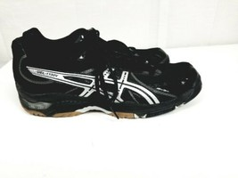 ASICS Womens Gel 1130V Volleyball Shoes Black Low Lace Up Athletic Sneak... - $19.80
