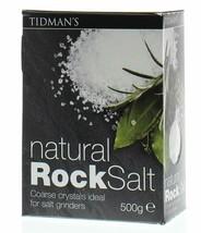 Tidmans Natural Rock Salt   500 g   2 PACK - $28.70