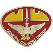 US Army 34th General Support Vietnam Aviation Pin NEW!!! - $4.94