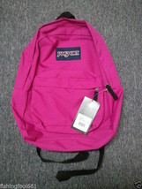 JANSPORT 100% AUTHENTIC PINK BACKPACK SCHOOL LIFETIME WARRANTY - $39.99