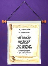 A Second Mom - Personalized Wall Hanging (711-1) - $18.99