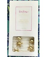 Lilly Pulitzer 9 FT LED Sea Turtle String Lights with 6 hour on 18 off t... - $18.99