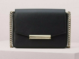 Kate Spade make it mine medium crossbody Clutch ~NWT~ Black - £149.22 GBP