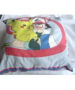 "Vintage 1990's Pokemon Double Sided Pillow 16"" X16"" - $29.99"