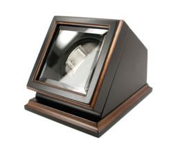 Bombay New Automatic Watch Winder Rotater Box Wood Finish - €92,13 EUR