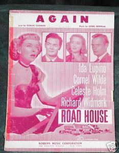 Primary image for AGAIN Cochran and Newman 1948 Sheet Music
