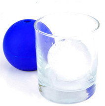 Hot Creative Silicone mold Blue Wars Death Round Ball Ice Cube Mold Tray Desert  - $24.77+