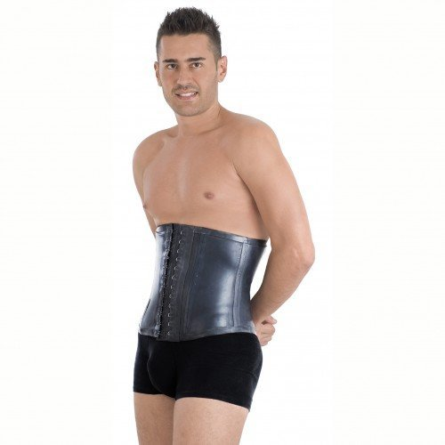 dc07503308f Ann Michell Waist Trainer - Men Black Latex and 50 similar items.  41k0zoizytl
