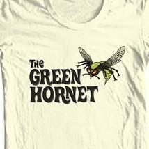 The Green Hornet tan T-shirt Free Shipping  comic book superhero tee size S-5XL image 1