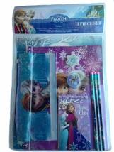 Disney Frozen Elsa & Anna 11 Piece School Supply Stationary Set New - $7.87