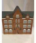 Cat's Meow Village Shelf Sitter 1994 St. Joseph Catholic School Lancaste... - $12.33