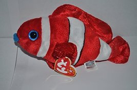 TY Beanie Baby - JESTER the Fish [Toy] - $7.56