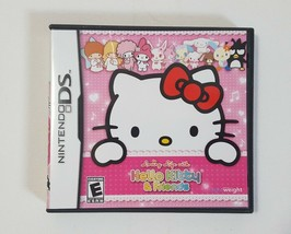 Loving Life With Hello Kitty & Friends (Nintendo DS, 2011) Complete - $4.46