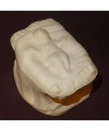 "Baby Jesus Ceramic Bisque Ready to Paint Unpainted U-paint 2"" Nativity C... - $8.89"