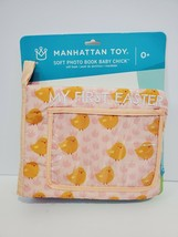 Manhattan Toy My First Easter Soft Photo Book Baby Bunny Orange - $9.19