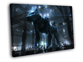Robot Dog Mech Plant Sci-Fi Art Decor Framed Canvas Print - $19.95+