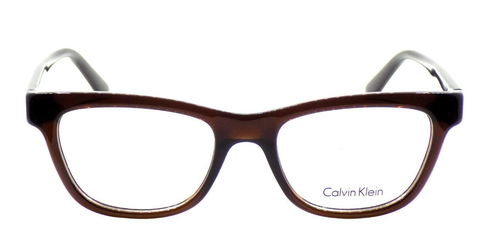 Calvin Klein CK5908 201 Women's Eyeglasses Frames Brown 51-18-140 + CASE