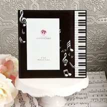 Music Design Glass Photo Picture Frame Table Number Holders Frame Party ... - $16.04