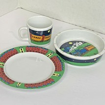 Colonial Williamsburg 3 pc Children Set Plate Bowl Cup  - $55.81