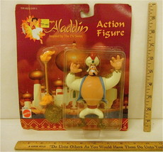 Walt Disney Aladdin Action Figure 1994 Mattel Model No 65391 w/Torch Shield NOC - $27.80