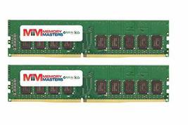 16GB (2x8GB) DDR4-2400MHz PC4-19200 ECC UDIMM 1Rx8 1.2V Unbuffered Memory for Se - $126.82