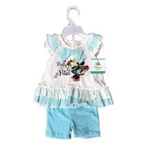 Disney Girl 2 Pieces Set 12-24 Months (12 Months, Off WHITE/SKY) - $12.73