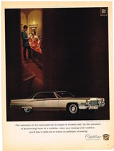Vintage 1969 Magazine Ad Cadillac Splendor Rivaled Only By Going By Cadillac - $5.93