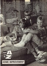 Jonathan Taylor Thomas Taren Noah Smith teen magazine pinup clipping Zack