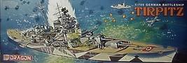 Dragon Models  1/700 German  WW2  Battleship TIRPITZ  Kit 7047 image 1