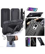 Heavy Tough Armor Stand Case W/Belt Hook Clip Fo Samsung S6, S7, Nexis, ... - $5.22
