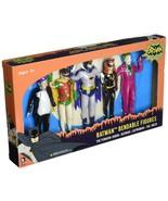 1966 Batman Classic TV Series Bendable Action Figure Box Set New in Disp... - $22.00