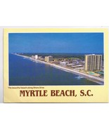 South Carolina Postcard Myrtle Beach Shore Drive - $2.84