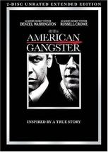 American Gangster (DVD, 2008, 2-Disc Set) - $11.95