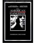 American Gangster (DVD, 2008, 2-Disc Set) - £9.51 GBP