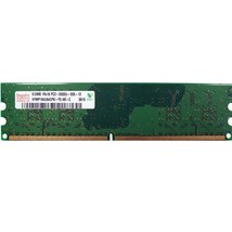 Hymp164u64cp6-Y5 Hynix 512Mb Ddr2 667Mhz Pc2-5300 240-Pin Non-Ecc Unb - $12.23