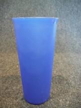 Tupperware 115 Sheer Dark Blue 12 Ounce Tumbler  - $2.69