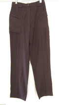 NWT Cannisse French Provence Designer Pants Brown Relaxed Trousers 6 8 $218 - $94.00