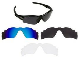 Ersatzgläser für Oakley Radar Path Sonnenbrille Vented Mehrfarbig - $10.64