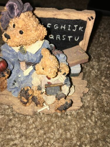 BEARS RESIN FIGURES MISS BRUIN &BAILEY —332 image 3