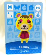 347 - Tammy - Series 4 Animal Crossing Villager Amiibo Card - $29.99