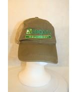 John Deere logo Legacy Equipment Trucker Dad Adjustable Mesh Olive Green... - $49.95